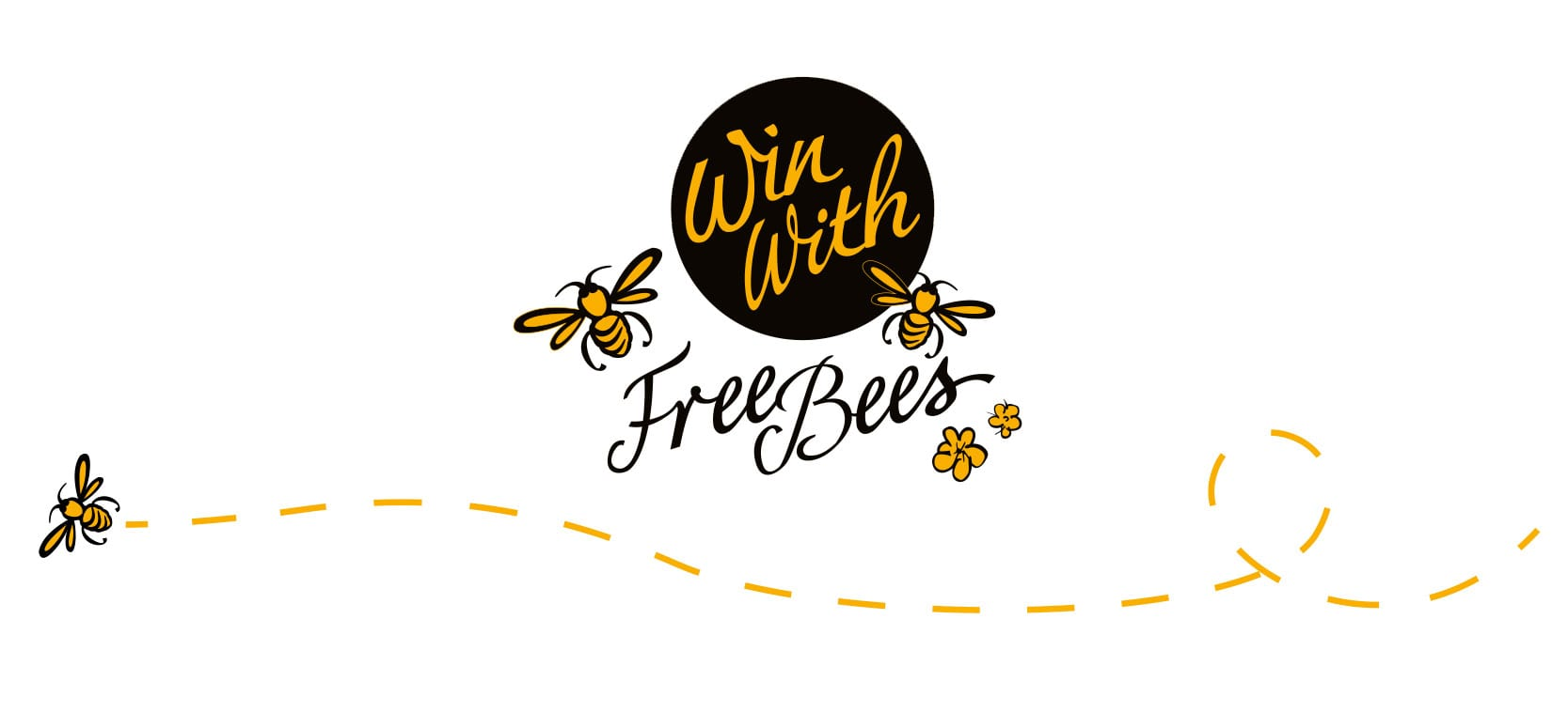 Image of Freebees logo designed by graphic designer and branding designer Jessica Croome of Perth WA