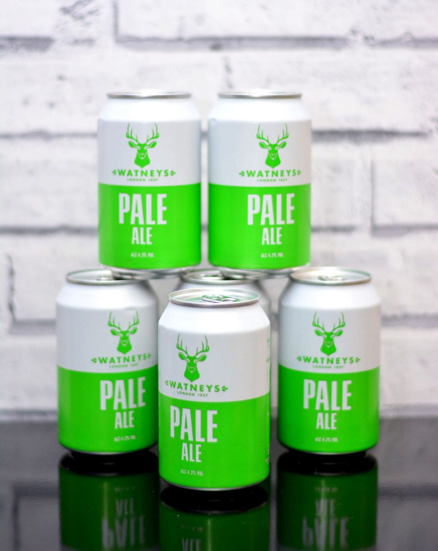 Image of can design for Watneys Pale Ale, designed by branding designer and graphic designer Jessica Croome of Perth Western Australia