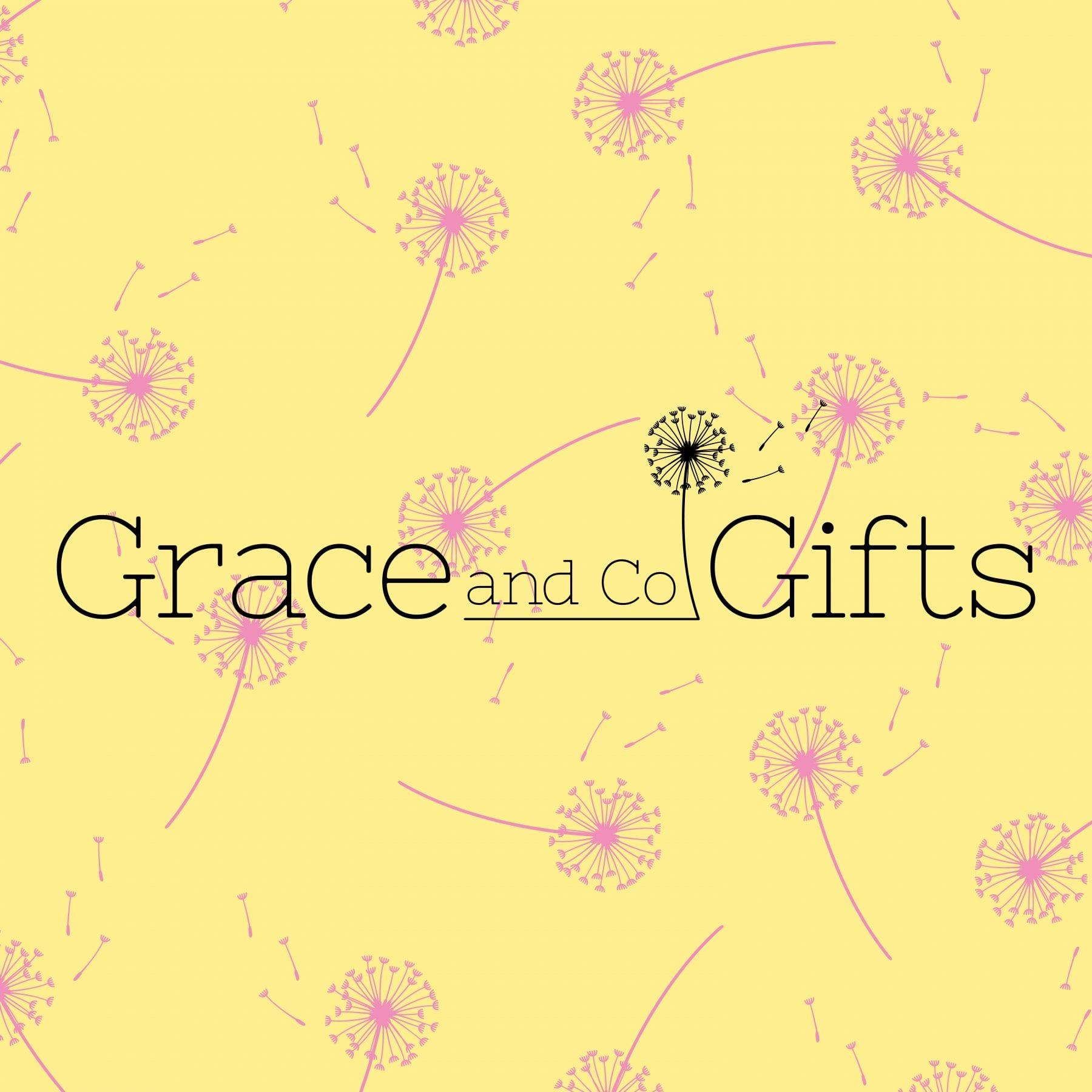 Grace and go gifts logo design by graphic designer and brand designer Jessica Croome of Perth WA