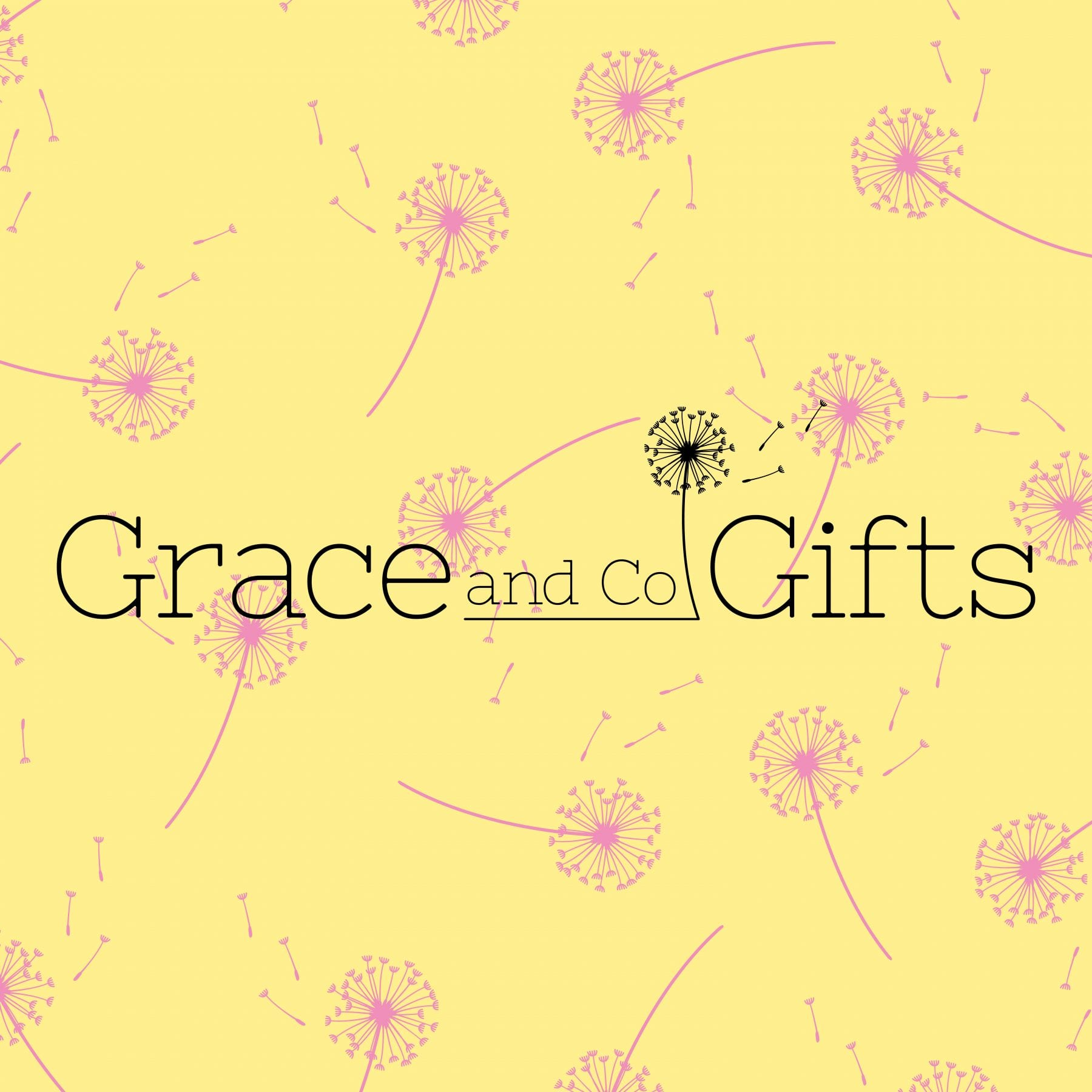Grace and go gifts logo design by graphic designer and brand designer Jessica Croome of Perth WA