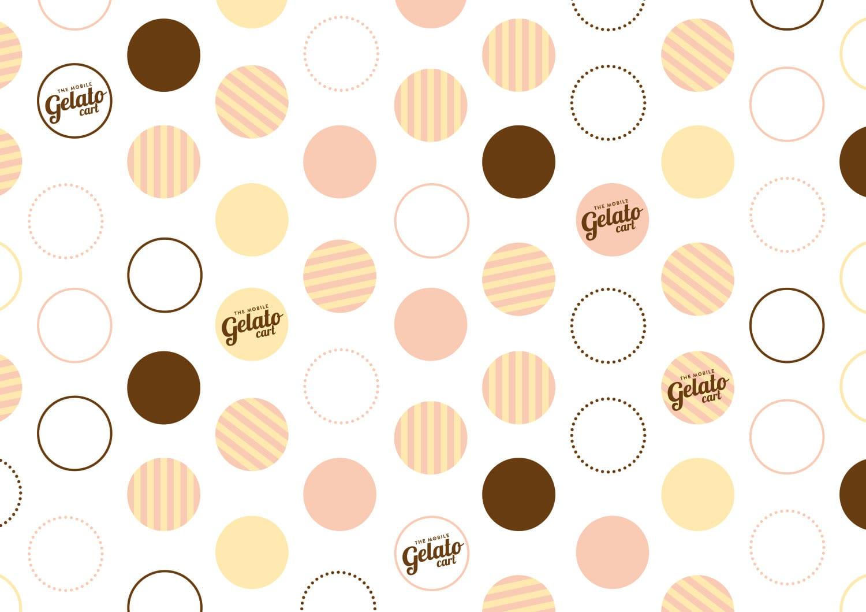 The mobile gelato cart pattern design perth